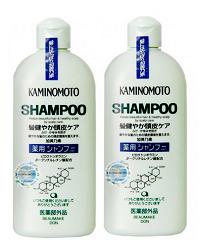Dầu Gội Đầu  KAMINOMOTO - Kích Thích Mọc Tóc, Ngăn Rụng Tóc - Nhật Bản - 300ml