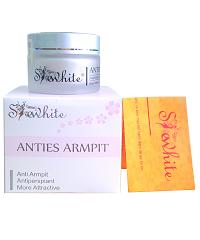 Thảo dược hỗ trợ trị hôi nách Shewhite - Anties Armpit