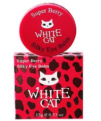 Kem dưỡng sáng da, trị thâm, xóa nếp nhăn và xẹp bọng mắt White Cat Super Berry Silky Eye Balm