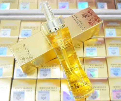 Tinh chất vàng dưỡng da Collagen Luxury Gold - bí quyết cho làn da trắng khỏe, mướt mịn tự nhiên