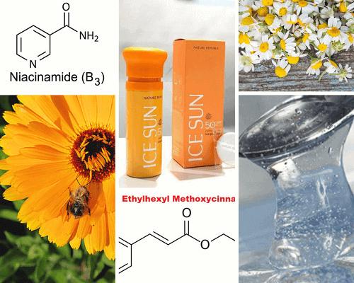 Kem chống nắng Nature Republic Ice Sun Puff với thành phần tự nhiên đảm bảo an toàn cho da