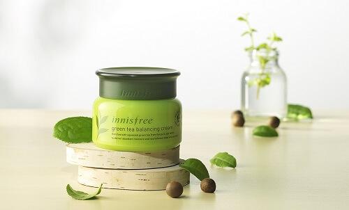Kem dưỡng da Innisfree Green Tea Balancing Cream cấp nước, dưỡng ẩm cho da hiệu quả