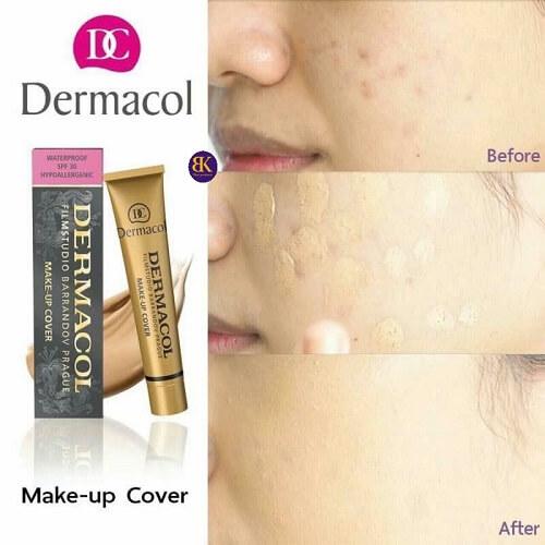 Kem che khuyết điểm Dermacol giúp bạn sở hữu lớp da mềm mịn, đều màu hoàn hảo