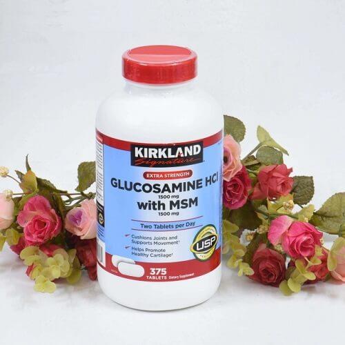 Viên uống bổ khớp Kirkland Mỹ - giúp xương khớp chắc khỏe, dẻo dai