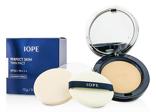 Phấn nén IOPE Perfect Skin Twin Pact đang hot nhất trên thị trường gần đây