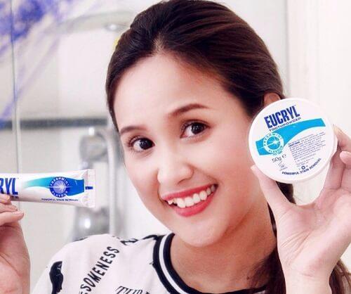Bộ sản phẩm trắng răng Eucryl cho bạn thêm tự tin, thêm cuốn hút với hàm răng sáng khỏe, hơi thở thơm mát