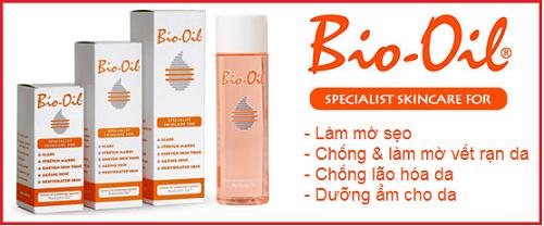 Tinh dầu trị rạn da Bio Oil là nhãn hiệu hàng đầu thế giới về chống rạn nứt da và mờ sẹo.