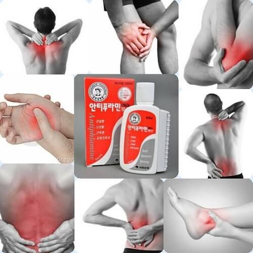 Chẳng lo đau nhức, mỏi chân tay, ngứa ngáy do côn trùng vì đã có dầu nóng Hàn Quốc Antiphlamine