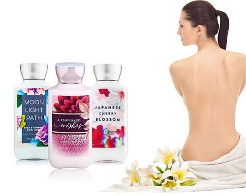 Dưỡng thể Bath & Body với 3 mùi hương nhẹ nhàng cho bạn lựa chọn