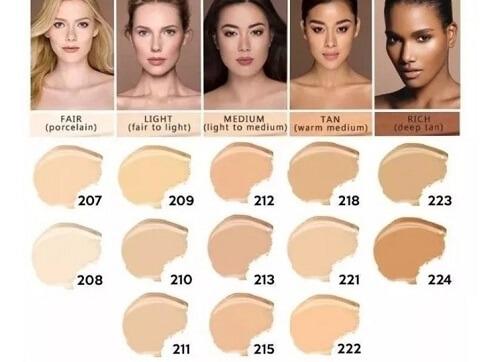 Kem che khuyết điểm Dermacol có nhiều tone màu cho bạn dễ chọn, phù hợp với mọi loại da