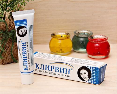Thành phần chính của kem trị sẹo Nga Klirvin được chiết xuất từ thiên nhiên