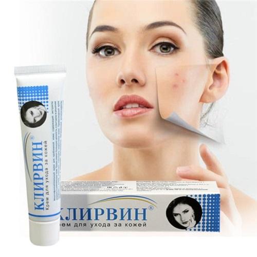 Bôi 2 lần/ ngày trực tiếp kem trị sẹo của Nga lên vùng da cần điều trị