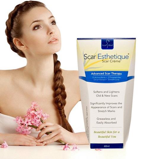 Kem trị sẹo Scar Esthetique 60ml xóa bỏ vết sẹo hiệu quả, nhanh chóng