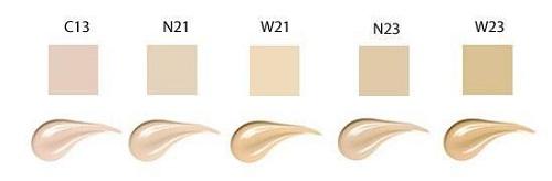 5 cấp độ màu sắc cho bạn lựa chọn