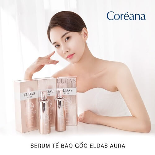 Serum tế bào gốc Eldas Aura được nhiều người tin dùng
