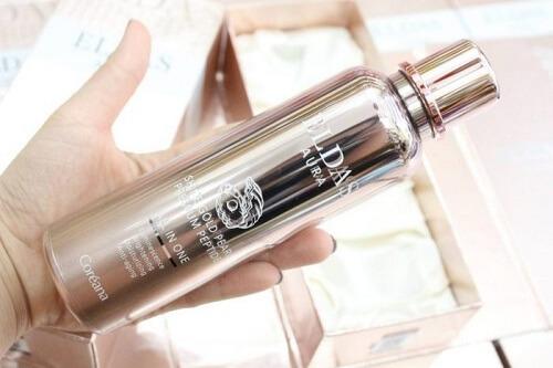Sử dụng serum tế bào gốc Eldas Aura mỗi ngày để nhanh chóng sở hữu làn da mềm mịn