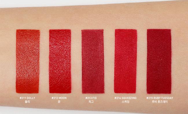 son 3 ce red recipe Stylenanda Lip Color