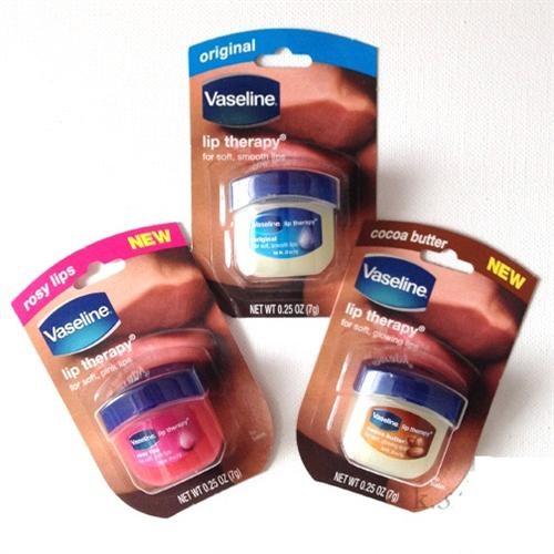 Son dưỡng môi Vaseline Lip Therapy mang đến 3 loại cho bạn thêm nhiều sự lựa chọn