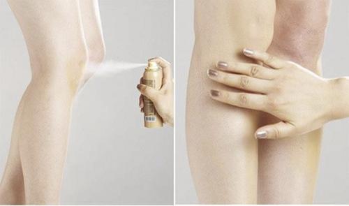 Tất phun chân Mistine Nude sử dụng nhanh chóng và dễ dàng