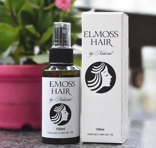 Thảo dược Elmoss Hair giảm rụng tóc và kích thích tóc mọc trở lại