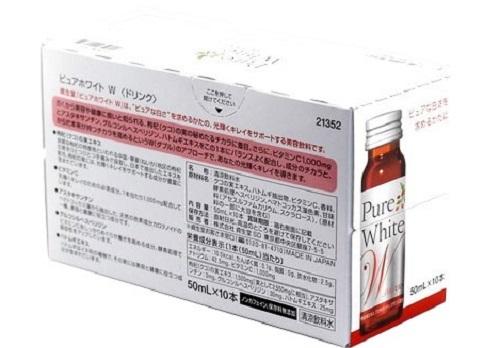 Pure White được sản xuất hoàn toàn từ thiên nhiên nên rất an toàn cho sức khỏe