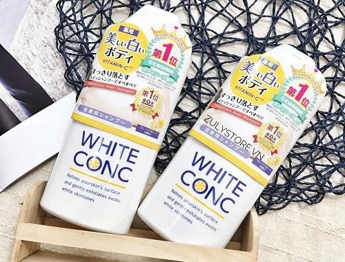 Sữa tắm trắng da White Conc Body Shampoo - bí quyết giúp bạn sở hữu làn da trắng sáng hoàn hảo