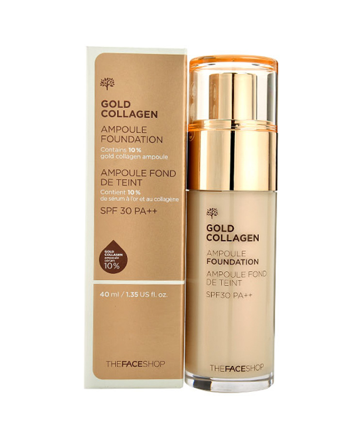 kem-nen-the-face-shop-gold-collagen-ampoule-foundation